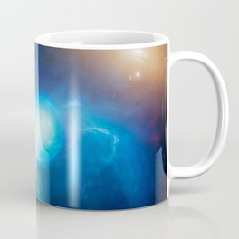 Mark Garlick - Merging Neutron Stars, in Galaxy NGC 4993 (2017) Coffee Mug