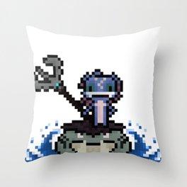 Fizz, The Pixel Trickster Throw Pillow