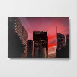 Skyscapes in Los Angeles Metal Print