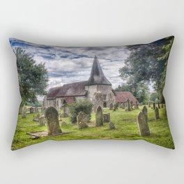 St Mary Barcombe Rectangular Pillow