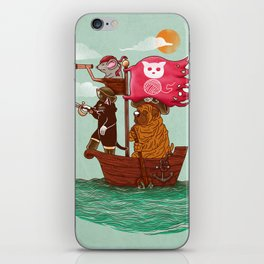 The Pirates iPhone Skin