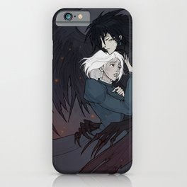 Howl and Sophie iPhone Case