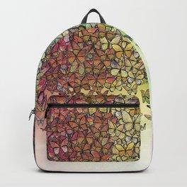 rainbow of butterflies aflutter Backpack