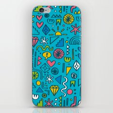 Doodle Party iPhone & iPod Skin