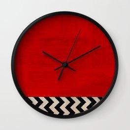 Twin Peaks - Red Room Wall Clock