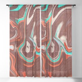 Worm Sheer Curtain