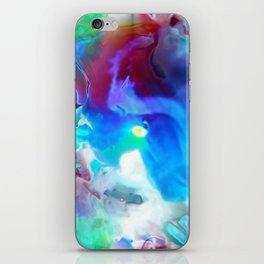 Acid clouds iPhone Skin