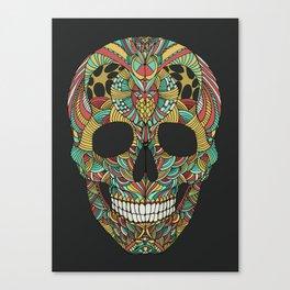 Ethno skull Canvas Print