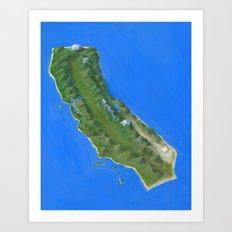 We are an Island Art Print
