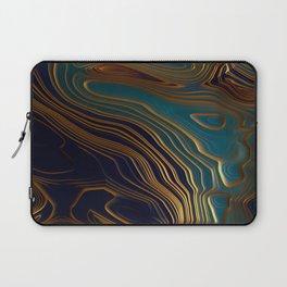 Peacock Ocean Laptop Sleeve