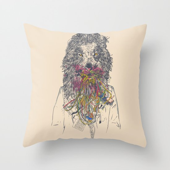 Social Feed Throw Pillow