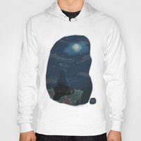 cookie monster Hoodies featuring Cookie monster by David Pavon