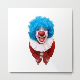 Happy Clown Metal Print