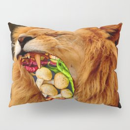 Yuckyuck!!! - Vegetarian!!! Pillow Sham