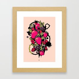 Bramble Bush Framed Art Print