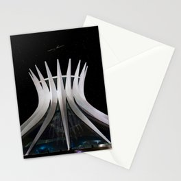 The Cathedral of Brasilia Stationery Cards
