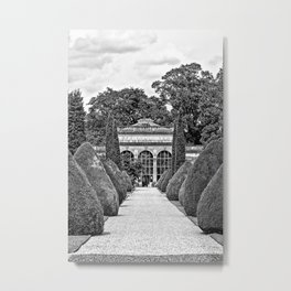 Path to the Orangery Metal Print