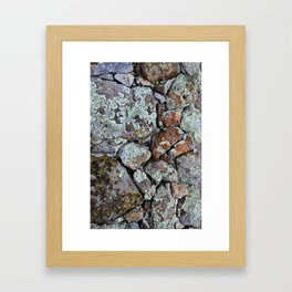 Mineral Rocks Framed Art Print