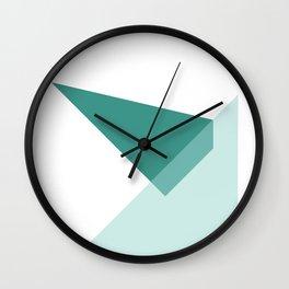 Triangles No6 Wall Clock
