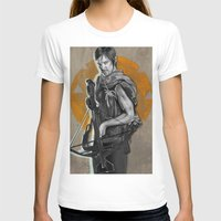 daryl T-shirts featuring Daryl Dixon by Yan Ramirez