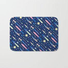 Magical Weapons Bath Mat