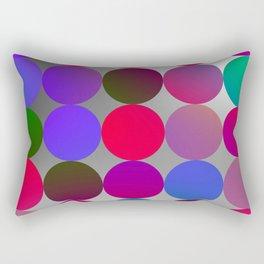 Glowing Dots Rectangular Pillow