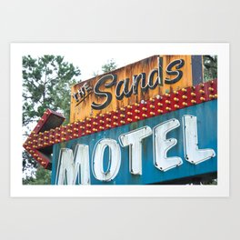 Sandy Shore Art Print