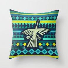 Nazca Condor Throw Pillow