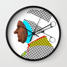 the truth is dead · Was wäre der Mann, ohne Schneider ? Wall Clock