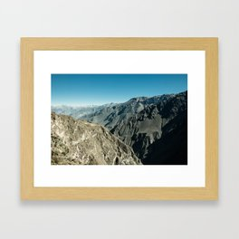 Colca Framed Art Print