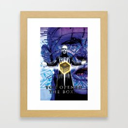 "Pinhead Hellraiser ""You Opened The Box"" Framed Art Print"
