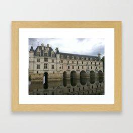 Chateau de Chenonceau 2 Framed Art Print