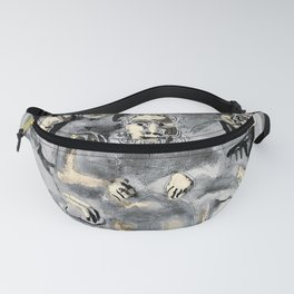12,000pixel-500dpi - Pablo Picasso - Family table - Digital Remastered Edition Fanny Pack