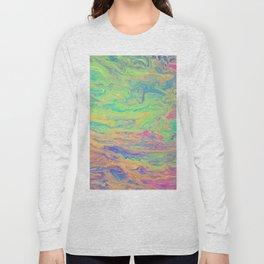 Retro Rainbow Long Sleeve T-shirt