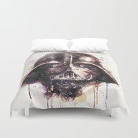 darth Duvet Covers featuring Darth Vader by beart24