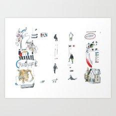 Reshape Art Print