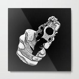 Gunman Metal Print