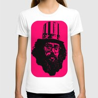 literature T-shirts featuring Outlaws of Literature (Allen Ginsberg) by Silvio Ledbetter
