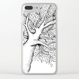 Larger than life Clear iPhone Case