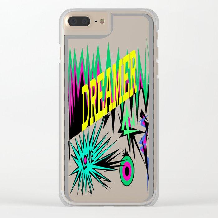 Keep Calm and Dream   Sweet Dreams my Love Clear iPhone Case