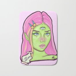 I Just Need Space / Space Girl Bath Mat