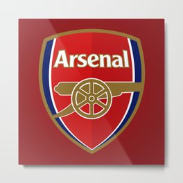 Arsenal Metal Print