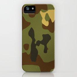 Woodland Camo iPhone Case