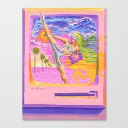 Fluoresca Canvas Print