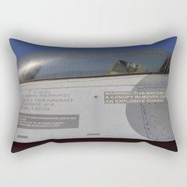 General Dynamics F-16 Fighter Rectangular Pillow