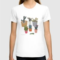 cactus T-shirts featuring Cactus by Anita Dominoni