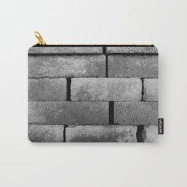 Construction Block Monochrome Carry-All Pouch