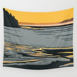 Ripples in the Sand Wall Tapestry