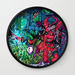 Art Whore: Succubus Consumed Wall Clock