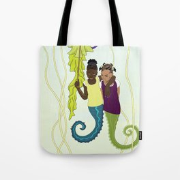 Aflan and Chaz Tote Bag